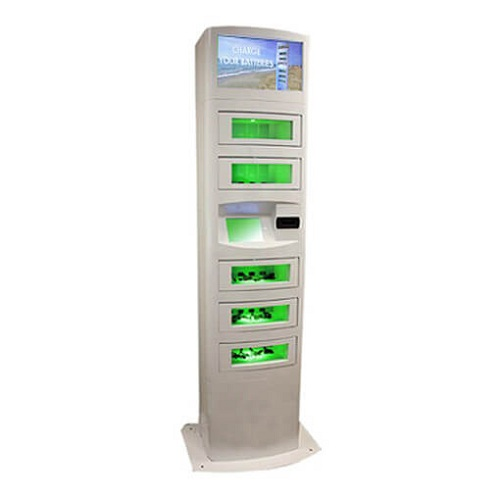 Wireless Phone Charging Kiosk