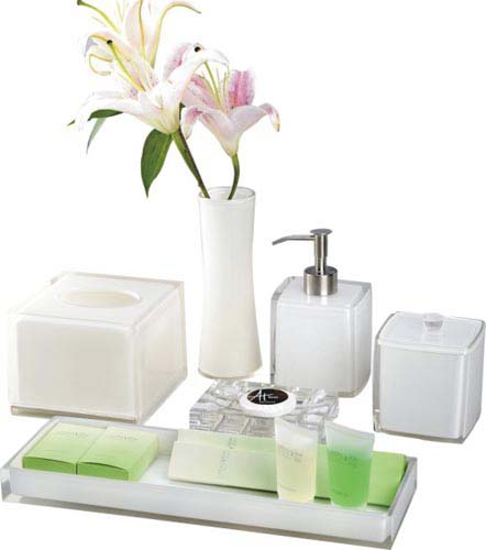 Bathroom amenity set ES7019 - ES7024