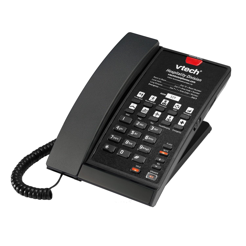 Điện thoại VTech là điện thoại bàn khách sạn hàng đầu thế giới về điện thoại Vtech có dây và không dây cho trong thị trường khách sạn, thương mại và gia đình...